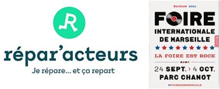 Présence des Répar'acteurs à la Foire Internationale de Marseille - 24/09/2021 au 4/10/2021