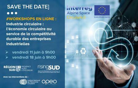 Workshop. Industrie circulaire : L'économie circulaire au service de la compétitivité durable des entreprises industrielles.