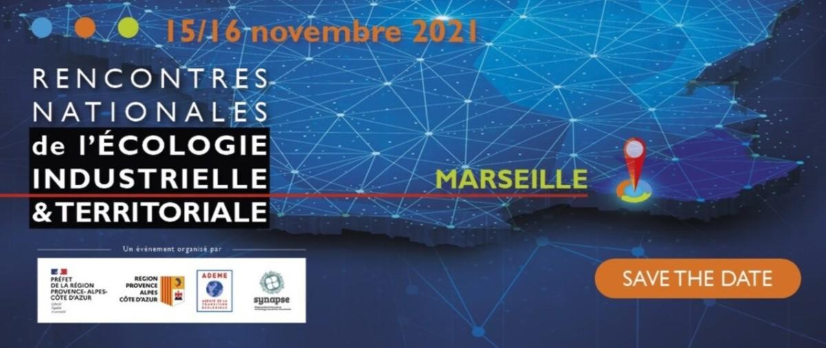 Rencontres Nationales de l'Ecologie Industrielle et Territoriale à Marseille