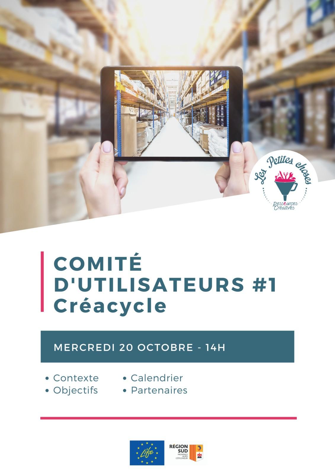 Comité d'utilisateurs #1 Créacycle