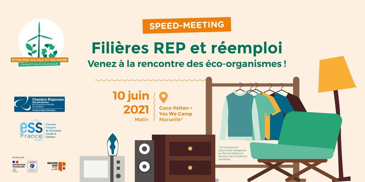 Speed meeting Filières REP et réemploi
