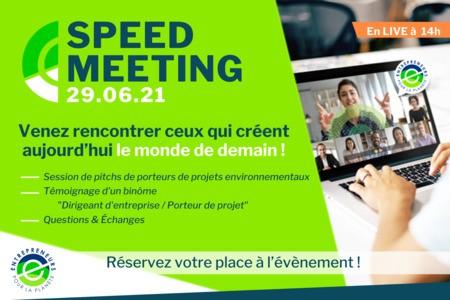 Web-meeting Entrepreneurs Pour la Planète : A la rencontre de ceux qui créent le monde de demain.