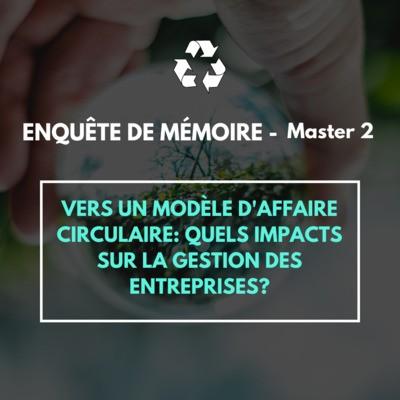 Enquête de mémoire Master 2