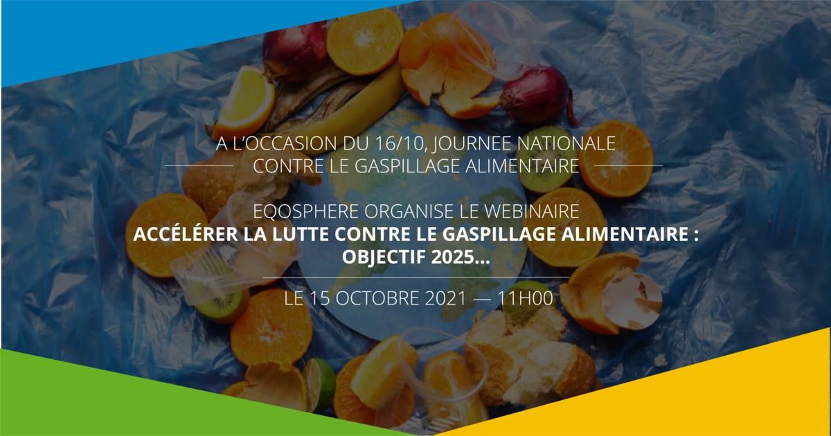 Webinaire | Accélérer la lutte contre le gaspillage alimentaire en Région Sud : Objectif 2025