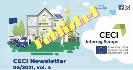 Newsletter # 3 du projet CECI dédié à l'implication citoyenne dans les projets d'économie circulaire